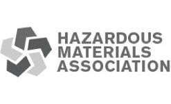 hazardous materials association logo